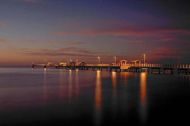 Ft Desoto Fishing Pier,  in HDR