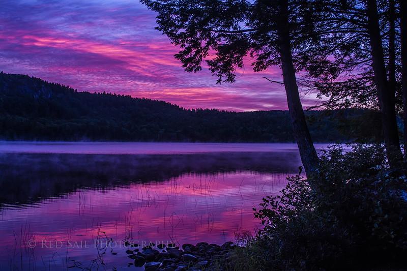 Sunrise on Parks Pond