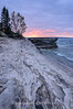 Cold fall sunset at Mosquito Beach, Pictured Rocks National Lakeshore.