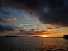 Sunset on a kayak trip through the Ten Thousand Islands