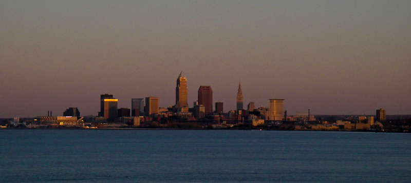 """Cleveland,<br /> City of light,<br /> City of magic,<br /> Cleveland,<br /> Even now I can remember."""
