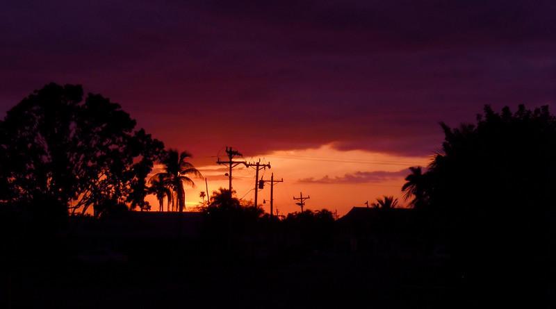 Sunset, Everglades City, FL