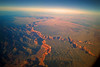 Little Colorado River from 30,000 ft.