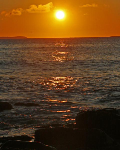 Sun rise experiments