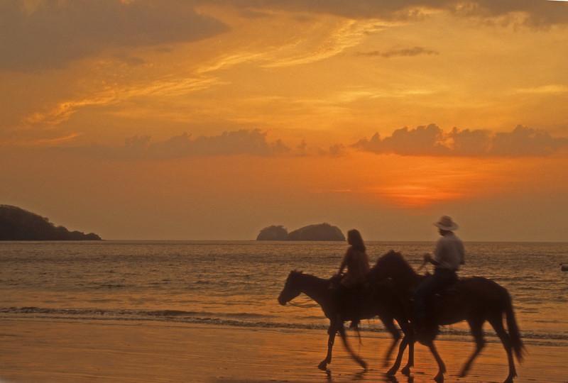 Costa Rica Beach ride