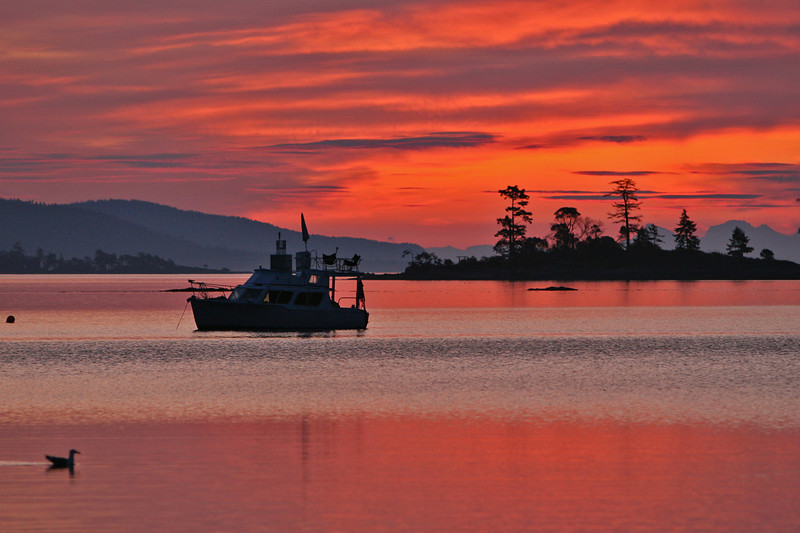 Sunset Roberts Bay