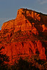 Red cliffs above Sedona