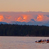 tyee fishing sunset