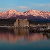 A few other photographers were here at Mono Lake, but a couple others nabbed this spot right after me.  The glow of the snowy peaks is amazing.