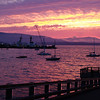 Sunset at Bellingham Bay, Washington