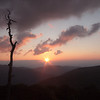Star Sunrise in the Shenandoah National Park