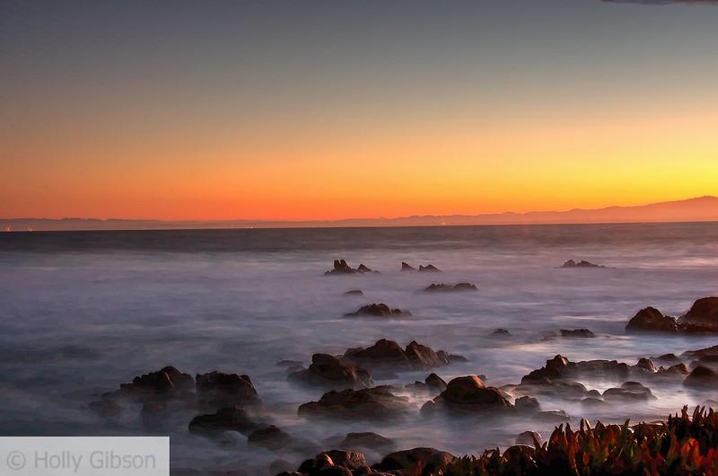 Sunrise at Monterey - near Asilomar Conference Center - 232