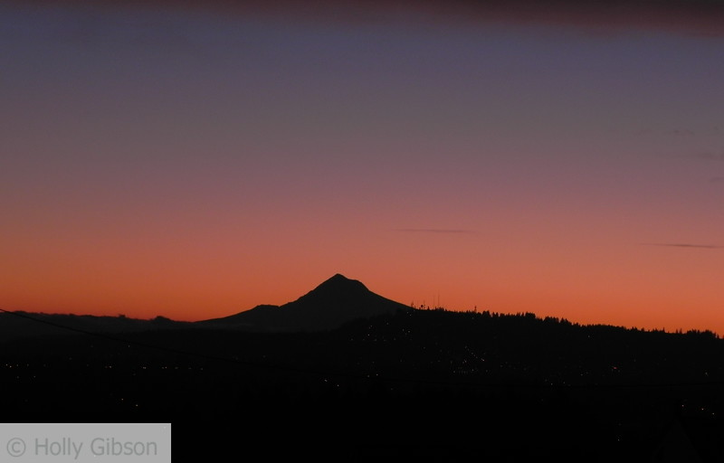 Mt. Hood from Kelly and Custer area in Portland, Oregon - 33