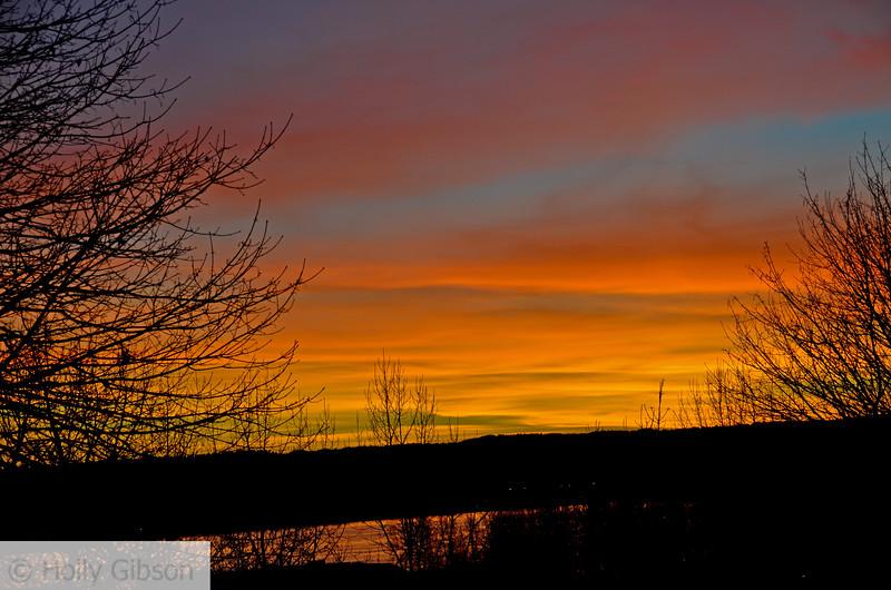 Sunset in Vancouver Washington - February - 93