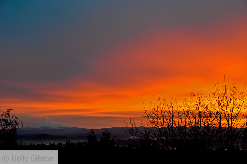 Thanksgiving Day sunrise - Mt. Hood - 89