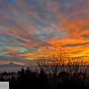 Foggy sunrise, Mt. Hood - 101