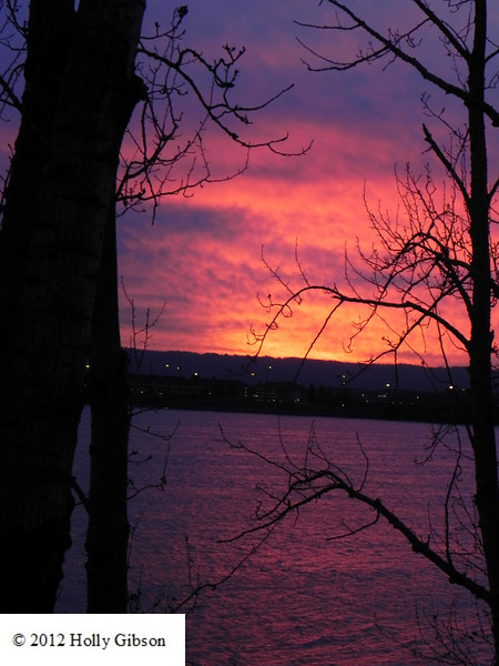 Sunset over the Columbia River - 15