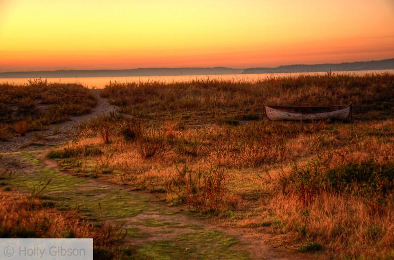 Sunrise at Fort Worden State Park - 168