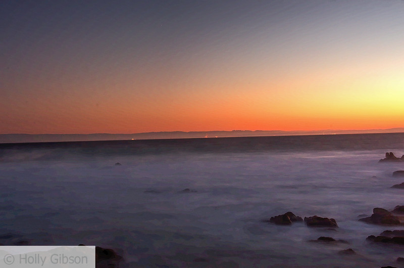 Sunrise at Monterey - near Asilomar Conference Center - 233