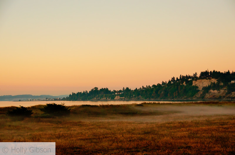 Sunrise looking towards Port Townsend - Ft. Worden State Park - 197