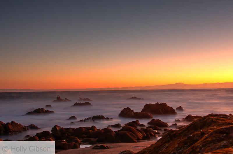 Sunrise at Monterey - near Asilomar Conference Center - 237