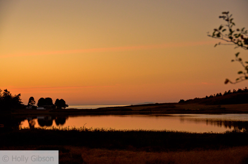 Sunset over Chinese Gardens - Fort Worden - 133