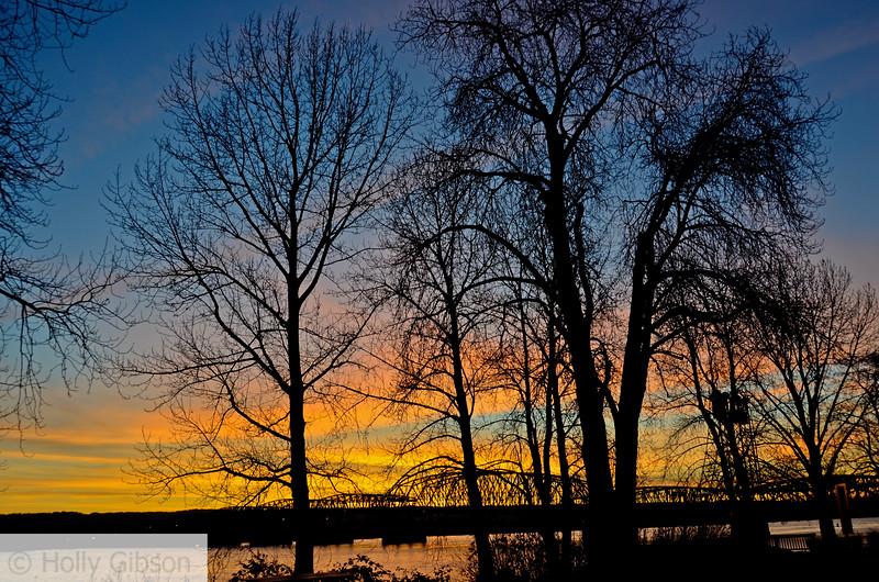 Sunset in Vancouver Washington - 96