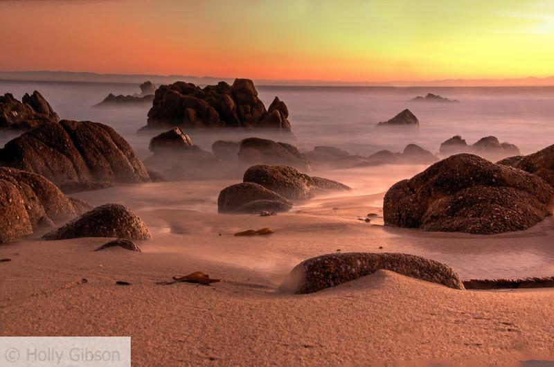 Sunrise at Monterey - near Asilomar Conference Center - 243