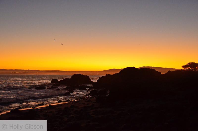Dawn on Monterey Peninsula - Pacific Grove - 152