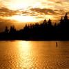 Golden sunset - taken through my sunglasses - 59