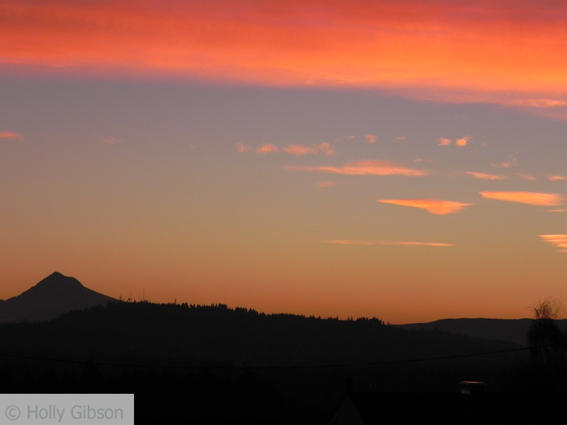 Mt. Hood from Kelly and Custer area in Portland, Oregon - 36