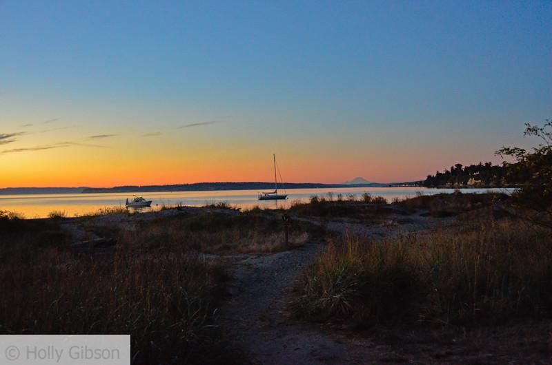 Sunrise at Fort Worden - Puget Sound - 122