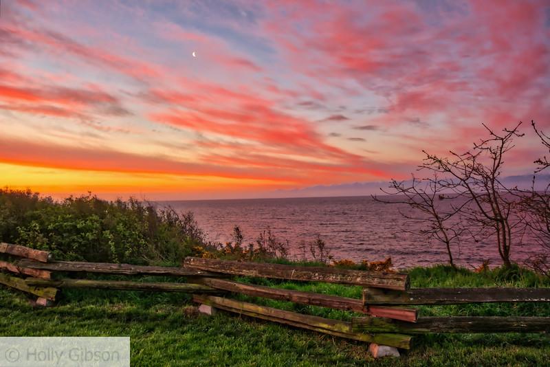 Sunrise in Victoria, BC