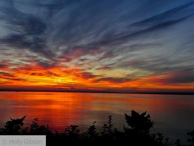 Sunrise over Puget Sound - 69