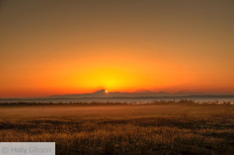 Sunrise at Fort Worden State Park - 171