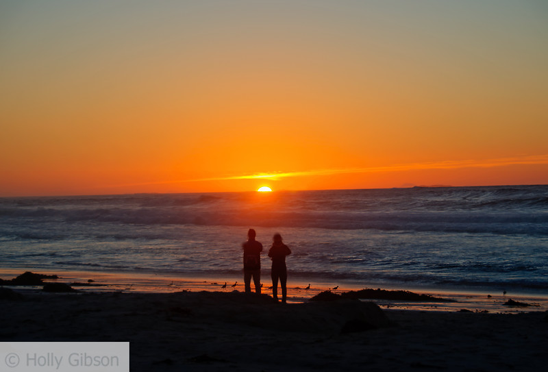 Sunset - Asilomar Conference Center, Pacific Grove, CA - 228