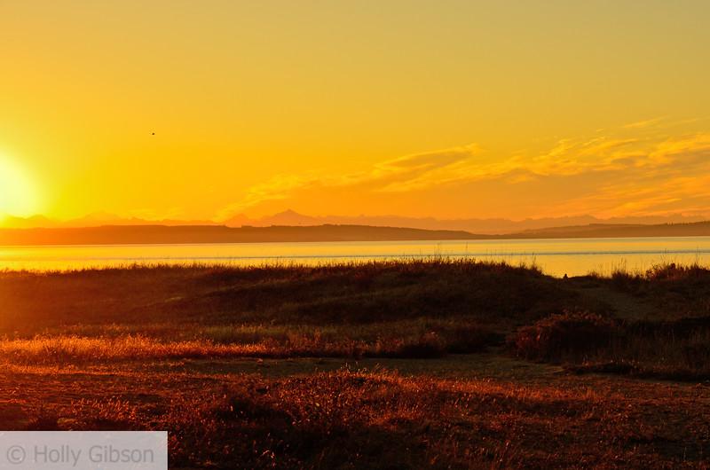 Sunrise at Fort Worden - Puget Sound - 128
