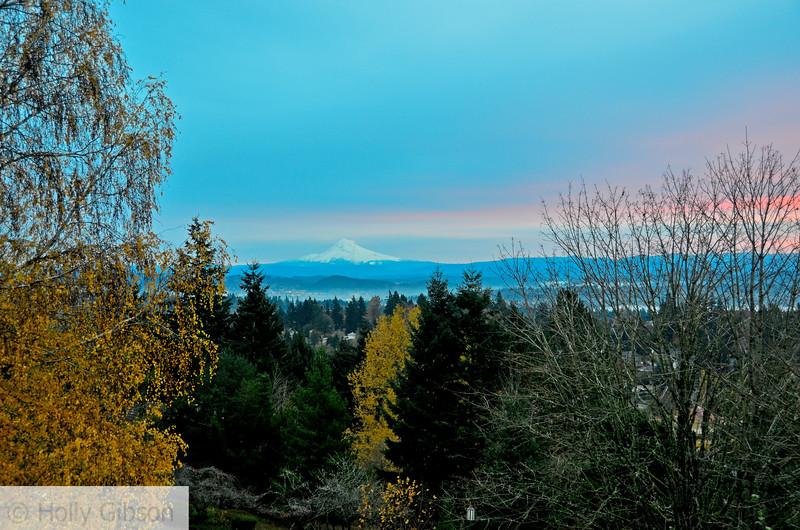 November sunrise - Mt. Hood - 88