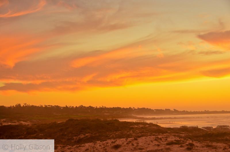 Sunset at Asilomar State Park - Monterey Peninsula, Pacific Grove - 145