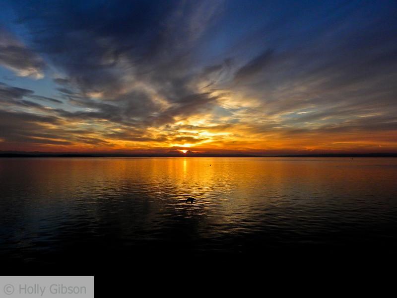 Sunrise over Puget Sound - 83