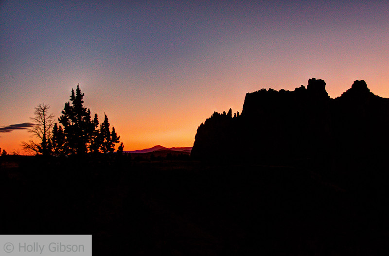 Sunset at Smith Rocks - Terrebonne, Oregon - 210