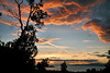 Sunset from Kincaid Park, Anchorage