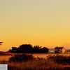 Lighthouse at sunrise - Ft. Worden State Park - 202