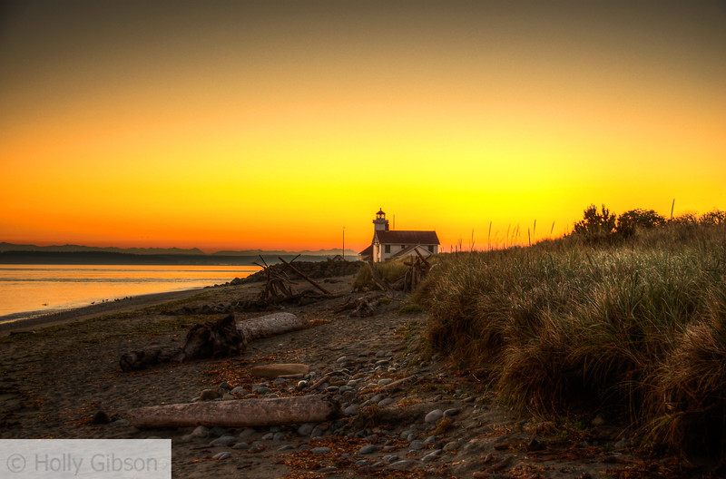 Sunrise at Fort Worden State Park - 172