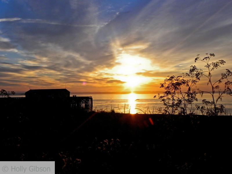 Sunrise over Puget Sound - 68