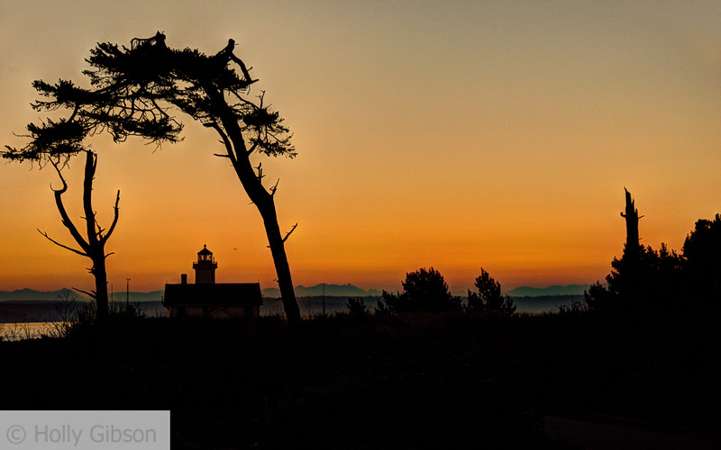 Sunrise at Fort Worden State Park - 170