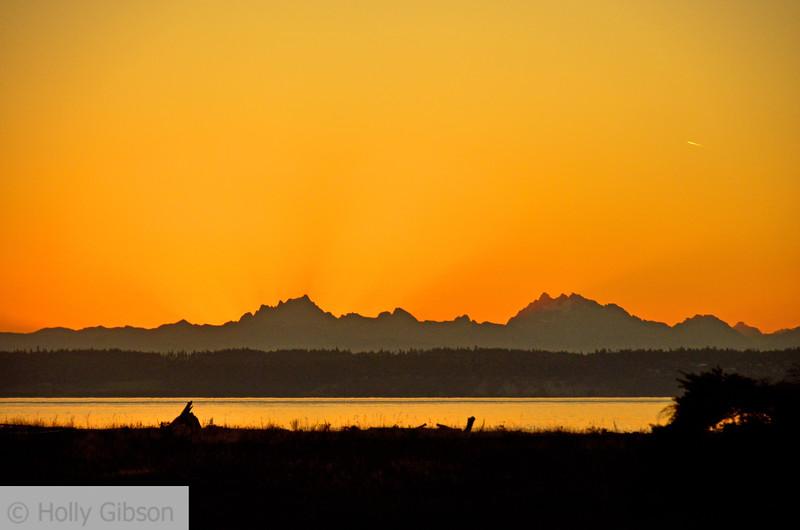 Sunrise at Fort Worden - Puget Sound - 127