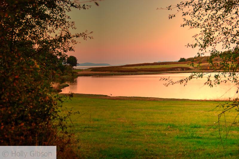 Chinese Gardens - lake near Ft. Worden - 188