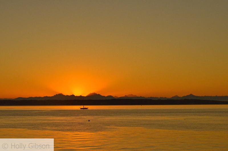 Sunrise at Fort Worden - Puget Sound - 118