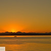 Sunrise at Fort Worden - Puget Sound